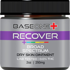 RECOVER – CBD Dry Skin Ointment 250mg – 2oz